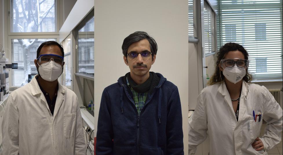 Welcome Vivek, Krishnan and Giuliana